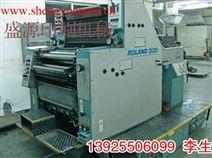 二手进口印刷机 92年罗兰R202四开双色 印刷机/胶印机