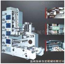 五色全自动柔版印刷机,商标柔印机,柔版印刷机