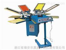 手动印花机,4色T恤印花机,服装印花机