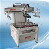 纸品包装可选用JY6080E高精密垂直式电动丝印机|长沙建宇网印