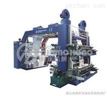 四色斜齿轮柔版印刷机,四色柔印机