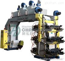 六色薄膜柔版印刷机 塑料印刷机
