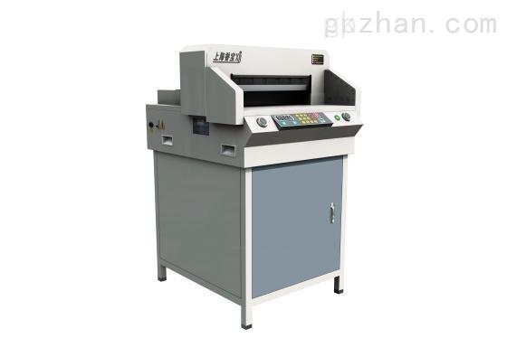 上海香宝XB-490EP精密数控电动切纸机 460幅面切纸机