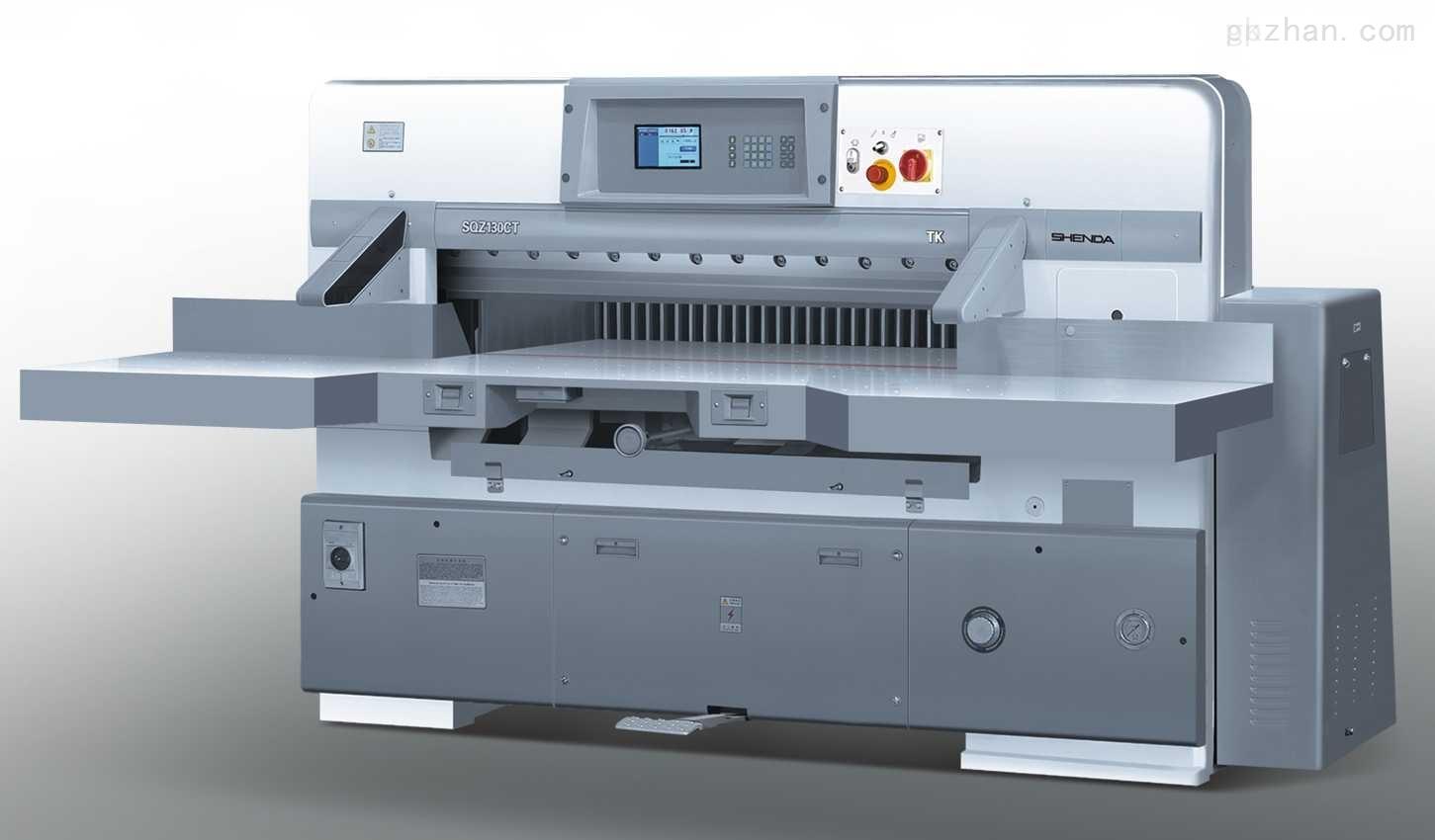 【供应】国望切纸机,K92CD 10.4英寸电脑程控切纸机