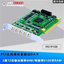 PCI9100,80MS/s 12位 2路可同步