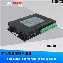 RTU6300阿尔泰-电压模拟量输入;差分模拟输入;1个POE网口,支持10/100MBase-TX