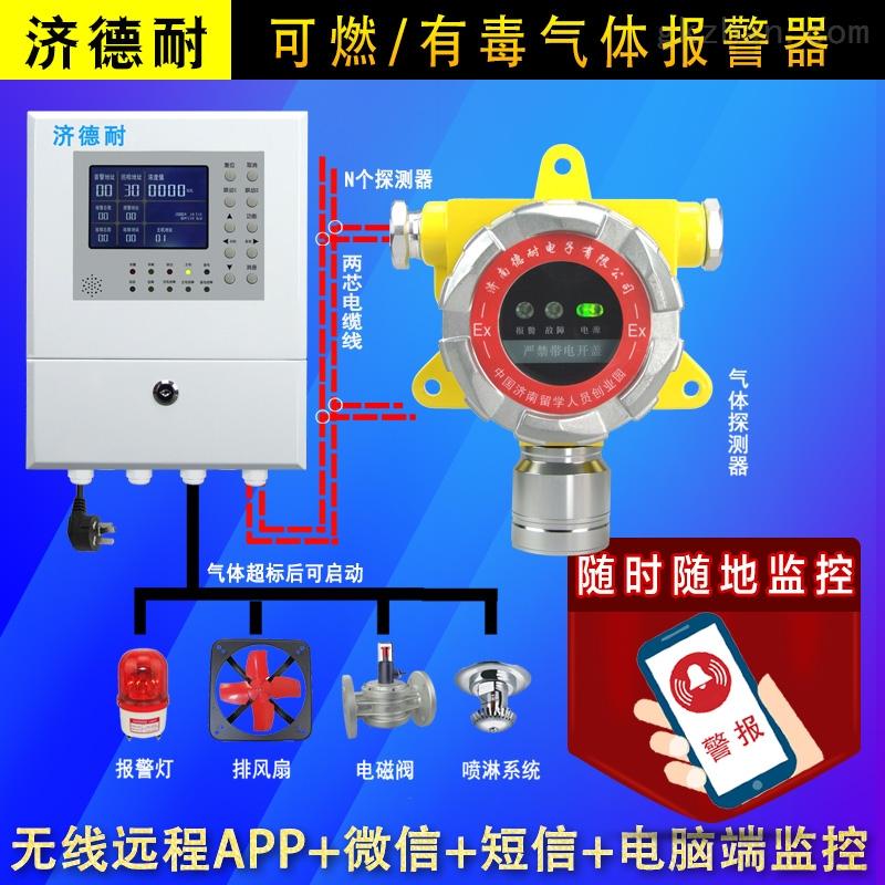 防爆型天然气泄漏报警器,联网型监测