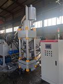 遼寧鑫源液壓銅屑壓塊機300T價格及產量