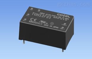 3W进口PCB安装AC/DC电源TUHS3F24 TUHS3F12