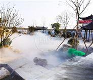 西安景观喷雾市政园林喷雾造景智能系统设备