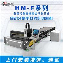汉马激光交换式激光机 双平台激光切割机