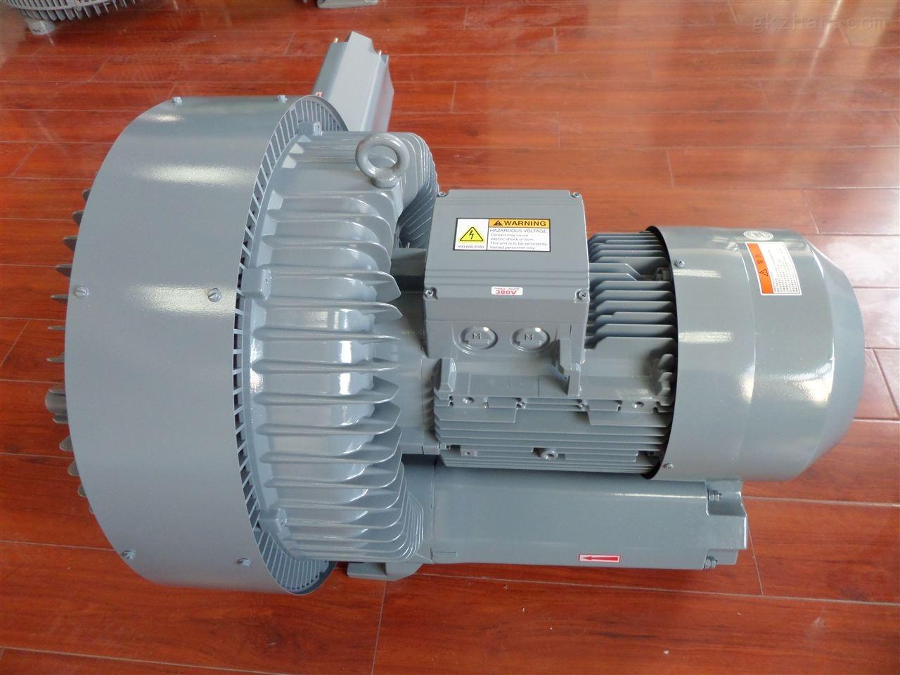 7.5KW真空吸附鼓风机 双叶轮负压风机