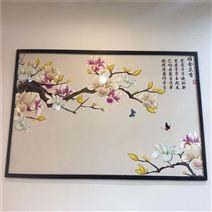北京浮雕玻璃装饰画uv平板彩印机