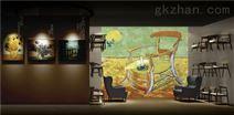 聚象科技为筑梦梵高展提供AR和AI投影支持