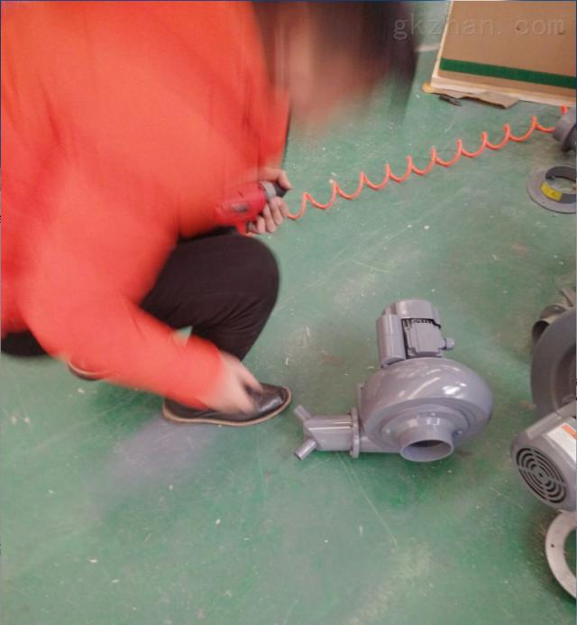 蜗牛式增压风机