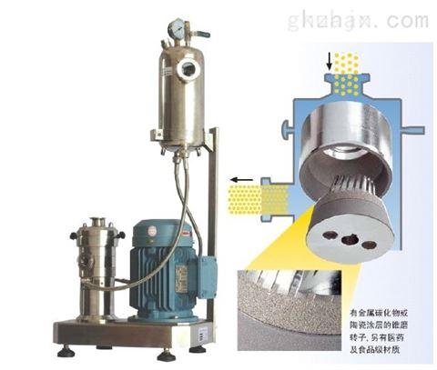 石墨烯电池浆料连续式管线分散机