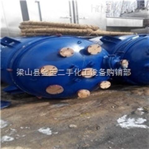 二手3吨不锈钢电加热反应釜