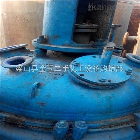 广西二手10吨不锈钢反应釜