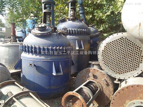 华星6吨二手不锈钢反应釜