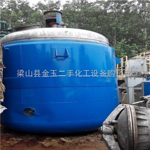 中国太极二手不锈钢反应釜价格