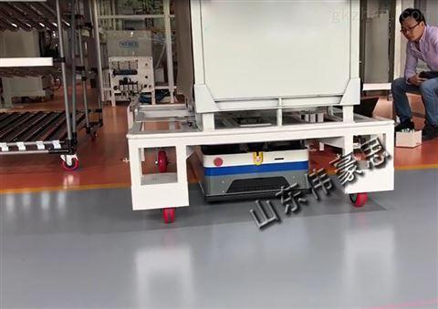 二维码导航仓储AGV小车 设计无人AGV生产线