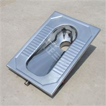城镇厕所改造不锈钢厕具 蹲坑式马桶大便池