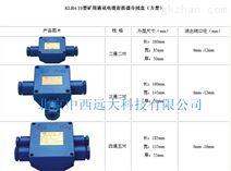 矿用通讯电缆连接器分线盒 型号:KLH4-10