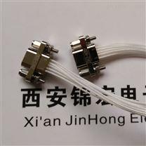 压接镀金J30J-9ZKP微矩形连接器带线产品