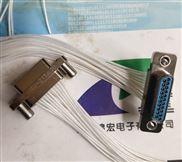 锦宏牌军标J30J-15ZKP压接矩形连接器
