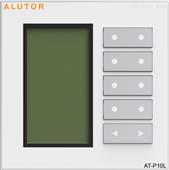 AT-P10L-阿爾尤特智能照明控制系統液晶控制面板