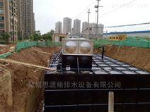 浙江金華抗浮地埋式一體化消防泵站圖紙定制