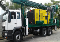 Z-WC800全液壓車載遙控一體氣動鉆機