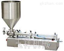 卧式膏液体灌装机