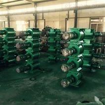 利尔环保制作星型卸灰阀转子加工过程