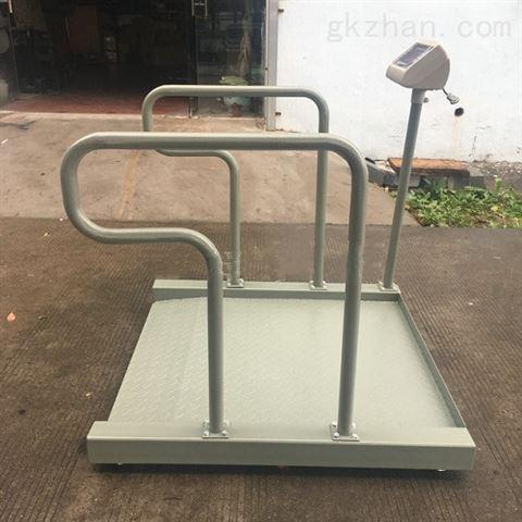医用称重打印血液透析电子称300kg轮椅秤