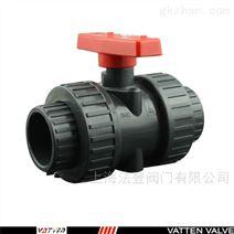 上海法登手動塑料球閥