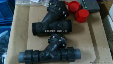 法登原装进口K521-A-125系列气动Y型隔膜阀