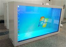 42寸透明屏觸摸廣告機