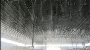 华润混凝土(柳州西江)搅拌站高压雾化除尘