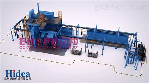 机加工设备机械三维动画制作