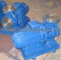 诚展泵阀提供ISWH50-160型卧式不锈钢单级管道离心泵