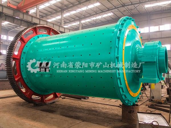 河南时处理14吨石灰球磨机效益高性能好