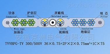 SYV+TVVB電梯監控專用電纜