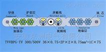 SYV+TVVB电梯监控专用电缆