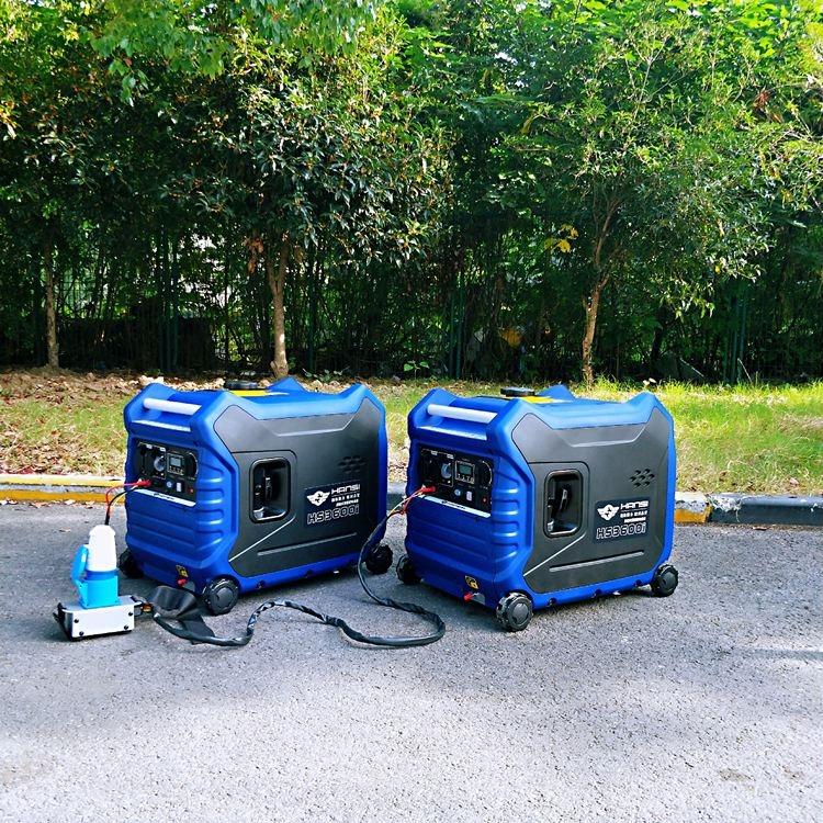 3KW静音汽油发电机房车