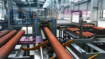 智能管加工生产流程三维演示动画