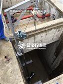 QJB转向安装潜水搅拌器安装方法大图