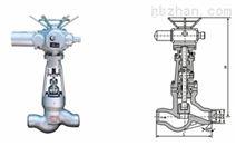 上海标一电动焊接截止阀
