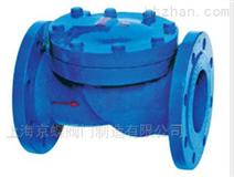 上海标一阀门H44X(SFCV)橡胶瓣止回阀