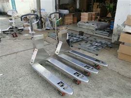 SCS-YHB食品厂车间用不锈钢叉车秤,1T2T3吨叉车称